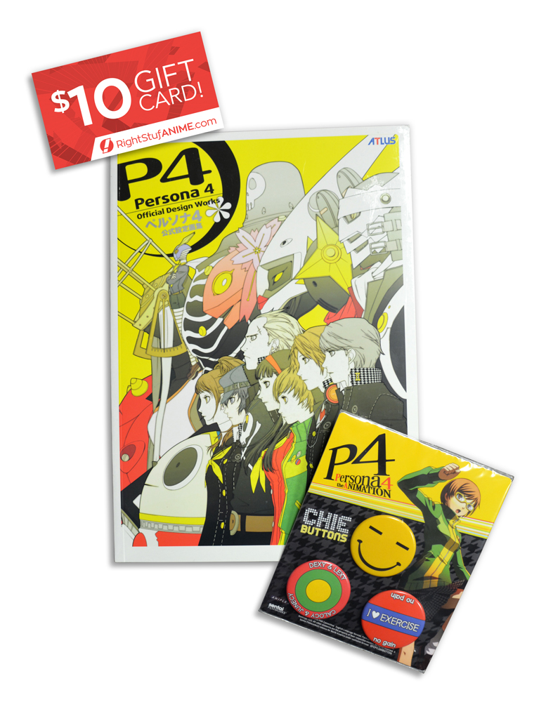 Persona Prize Bundle and $10 Right Stuf Anime Gift Card